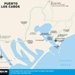 Map of Puerto Los Cabos, Mexico