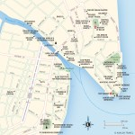 Map of Downtown Belize City