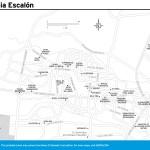 Travel map of Colonia Escalón, San Salvador,
