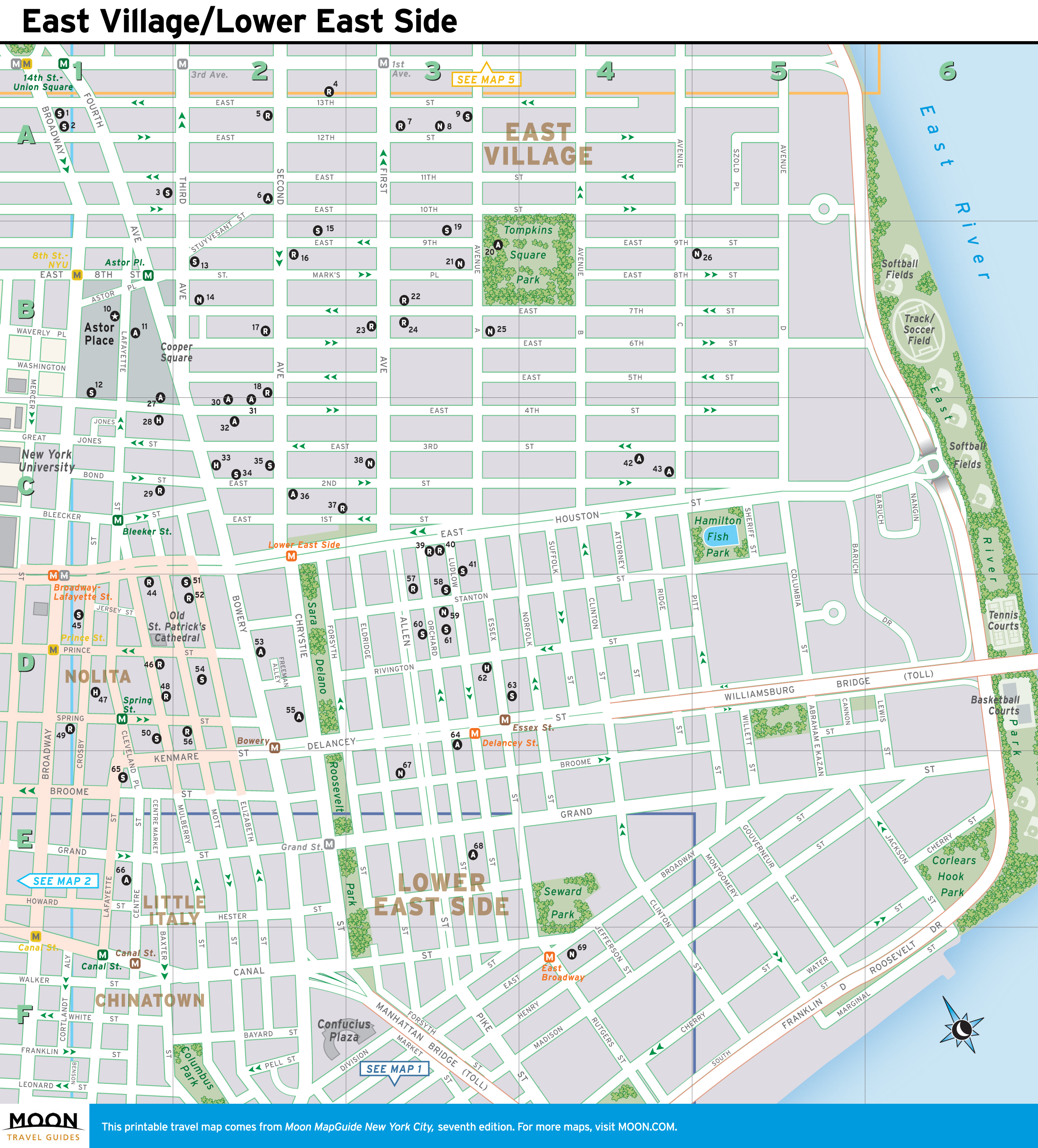 street map of new york city printable New York Maps Moon Travel Guides