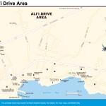 Maps - Hawaiian Islands 1e - Big Island - Ali'i Drive Area