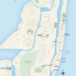 Travel map of Miami Beach, Florida