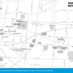 Map of Midtown Memphis, TN