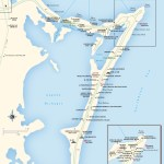 Travel map of Cancun's Zona Hotelera