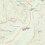 Trail map of Emerald Pools Trails in Utah
