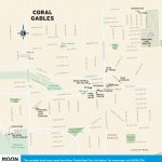 Travel map of Coral Gables, Florida