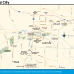 Travel map of Rapid City