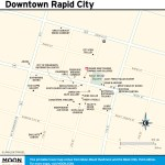 Travel map of Downtown Rapid City