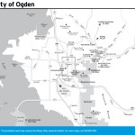 Travel map of the Vicinity of Ogden, Utah