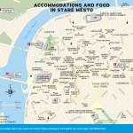 Travel map of Accommodations and Food in Staré Město in Prague