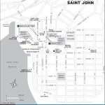 Travel map of Downtown Saint John, New Brunswick