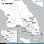 Travel map of St. Andrews, New Brunswick