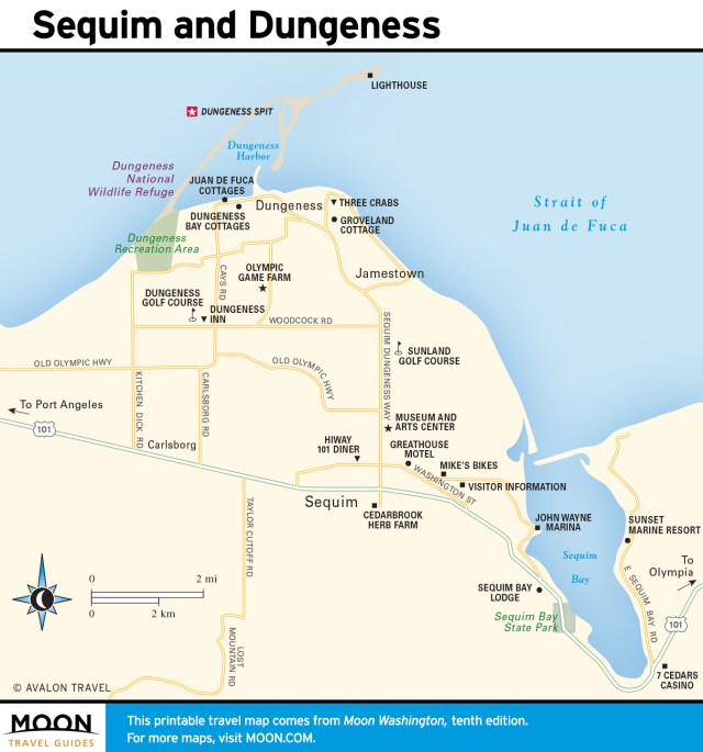 Maps - Washington 10e - Sequim and Dungeness Valley