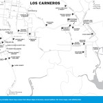 Map of Los Carneros, California