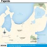 Travel map of Fajardo, Puerto Rico