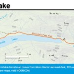 Travel map of Kintla Lake