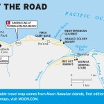 Travel map of The End of the Road, Kauai, Hawaii
