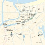 Travel map of Haiphong in Vietnam