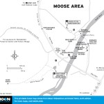 Map of Moose Area