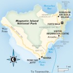 Travel map of Magnetic Island National Park, Australia