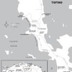 Map of Tofino, BC