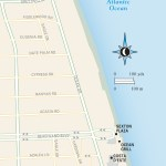 Travel map of Coastal Vero Beach, Florida