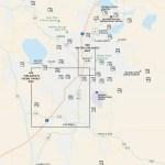 Travel map of Walt Disney World & Orlando, Florida