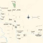 Travel map of Kanab, Utah