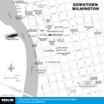 Map of Downtown Wilmington, North Carolina