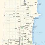 Travel map of Playa del Carmen