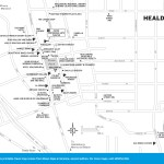 Map of Healdsburg, California