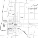 Travel map of Laredo, Texas