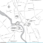 Map of Middlebury, Vermont