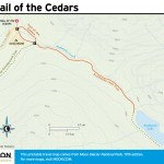 Travel map of Trail of the Cedars