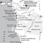 Map of the Leeward Coast of O'ahu