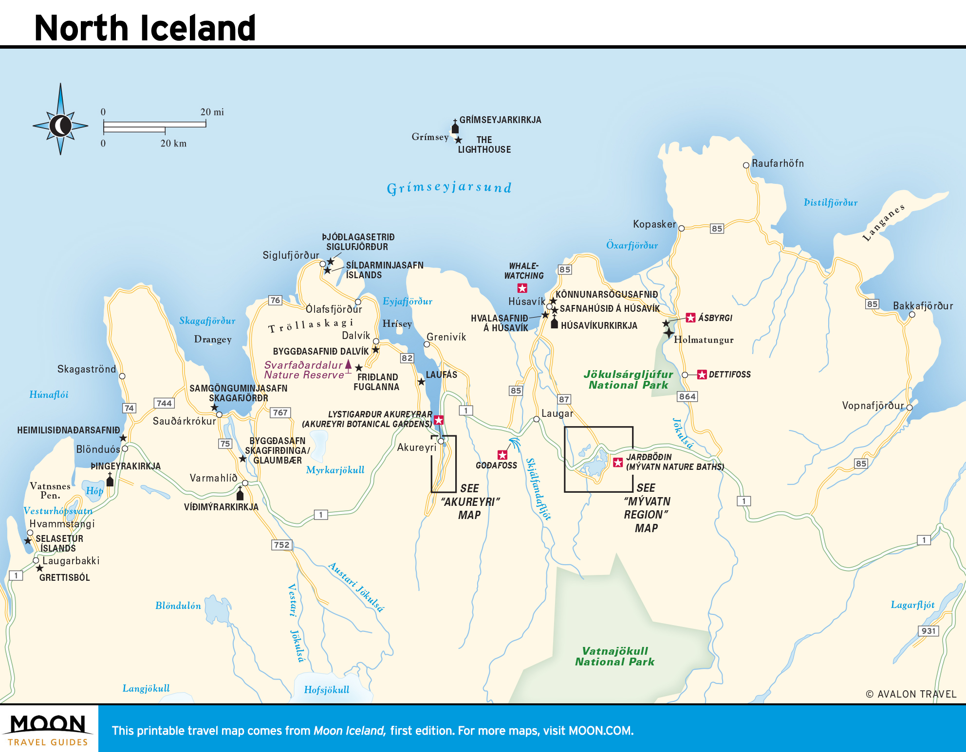 image relating to Printable Map of Iceland referred to as Iceland Moon Generate Publications