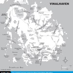 Travel map of Vinalhaven, Maine
