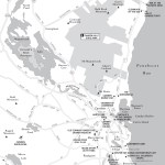 Travel map of Greater Camden, Maine