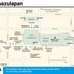 Travel map of Tamazulapan, Oaxaca