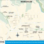 Travel map of Manizales, Colombia