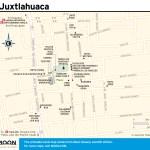Travel map of Juxtlahuaca, Oaxaca