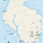Travel map of St. Petersburg, Clearwater, Florida