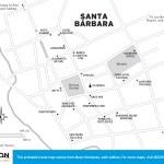 Travel map of Santa Barbara, Honduras