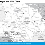 Travel map of Cienfuegos and Villa Clara, Cuba