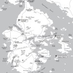 Travel map of Deer Isle, Maine