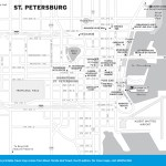 Travel map of St. Petersburg, Florida