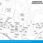 Travel map of Downtown Tegucigalpa, Honduras