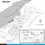 Map of Nelson, BC