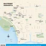 Travel map of Bayfront Sarasota, Florida