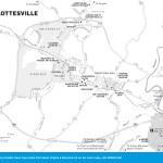 Map of Charlottesville, Virginia